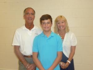 AJ & parents