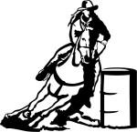 barrel silhouttee