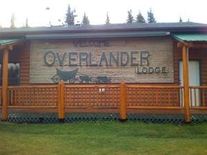 Overlander sign
