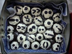 punctuation cupcakes