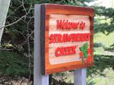 Creek sign