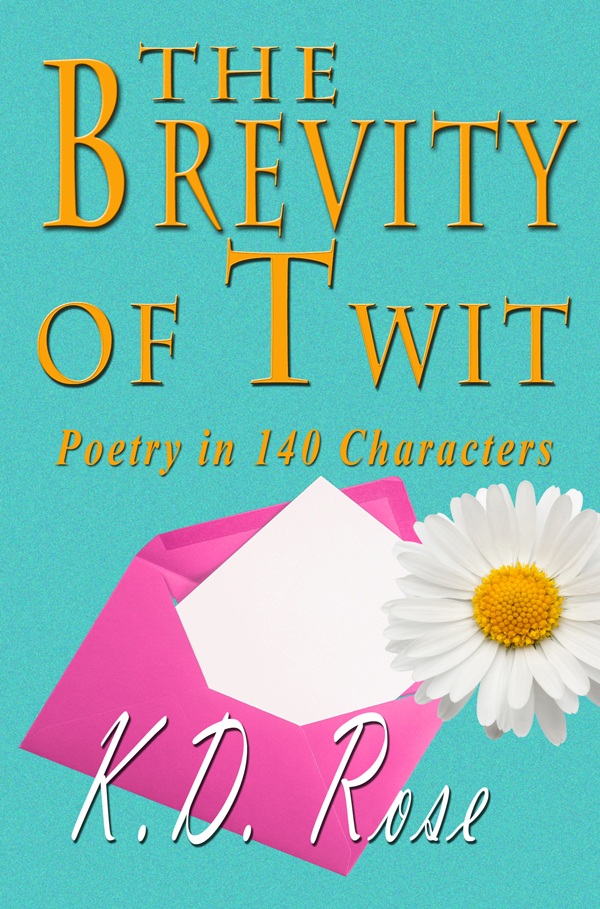 Interview with poet and author - K.D. Rose... (2/6)