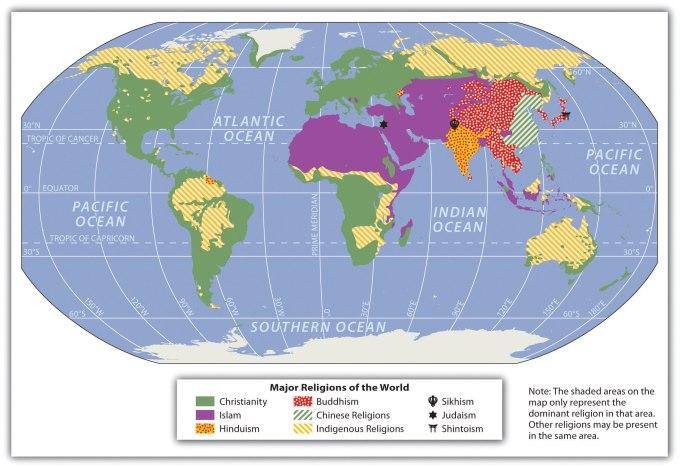 religion globe