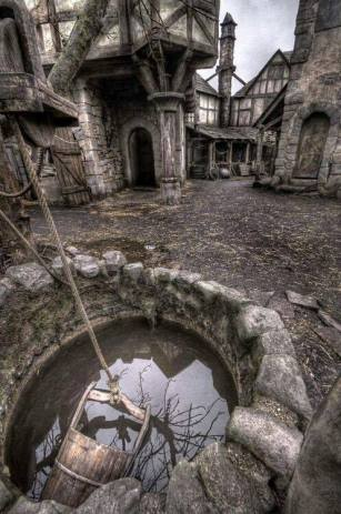 abandoned village in Scotland