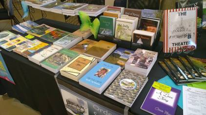 books at Savor Strathcona 2016
