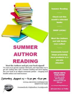 Aug 27th Author Reading