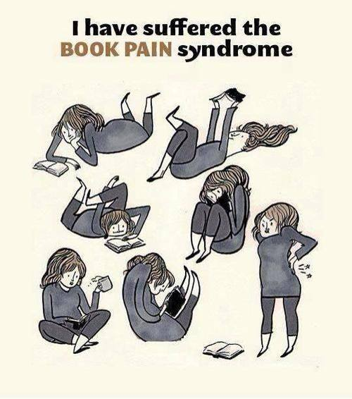 book pain