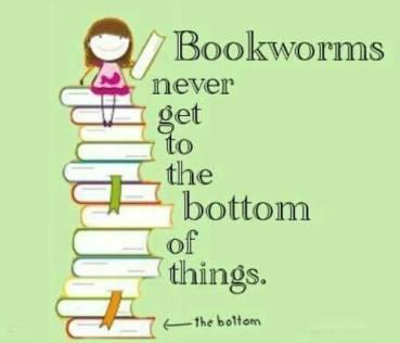 book pile humor