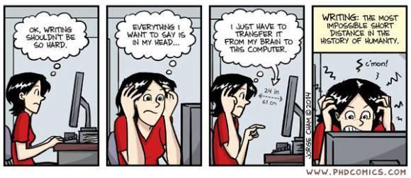 writers struggle
