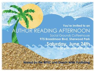 summer author reading