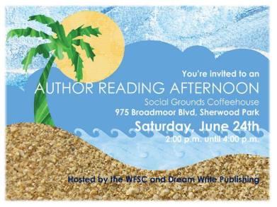 summer author reading