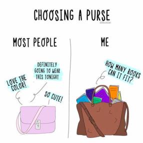 book purse