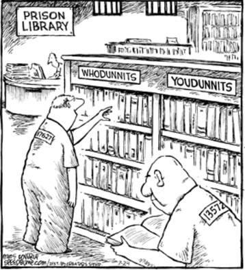 prison library
