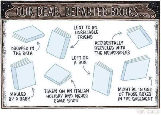 departed books