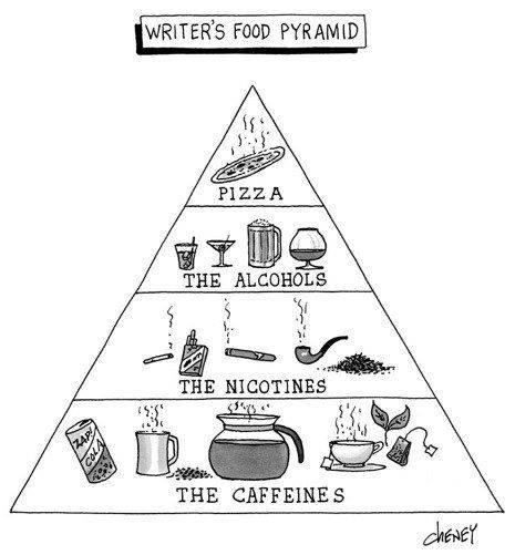writers food