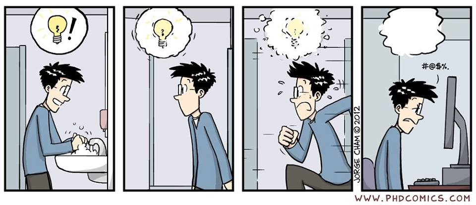 lost idea