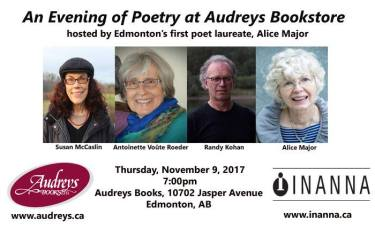 poetry at audreys