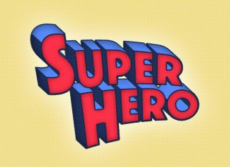 superhero-text-effect