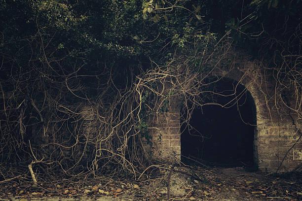 creepy entrance