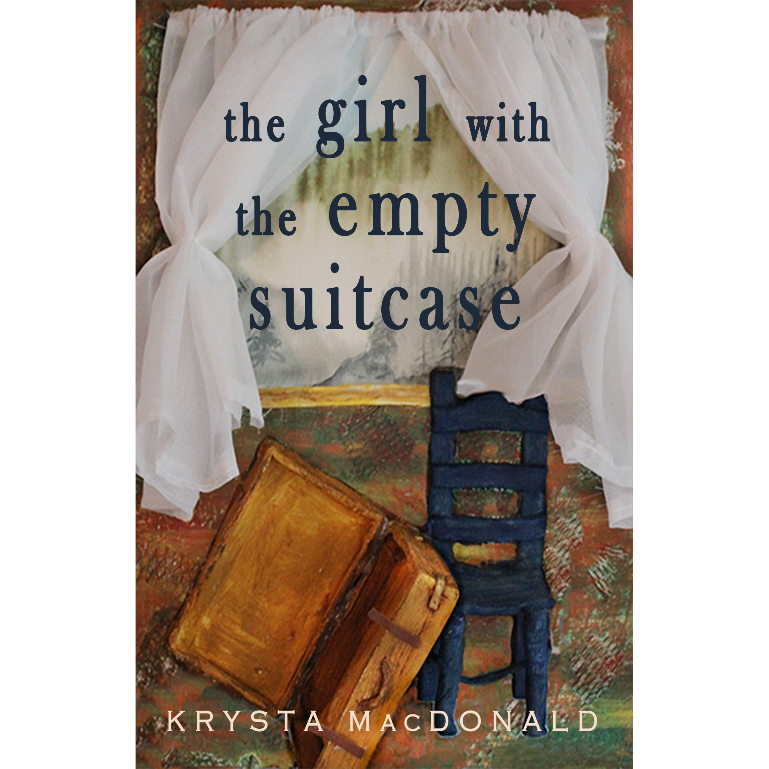 the girl with the empty suitcase