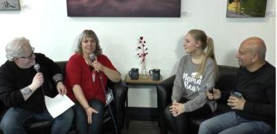 arts talk interview